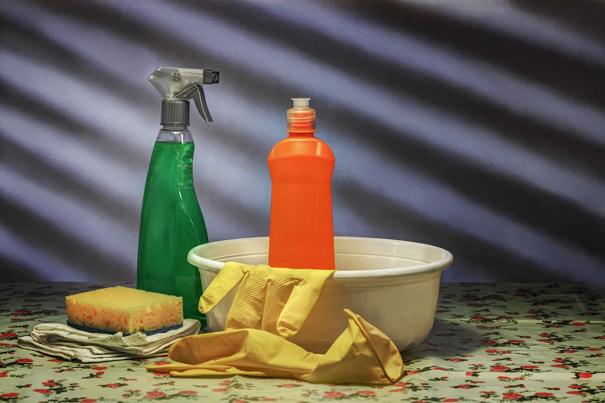 Not Feeling Great? Check Your Cleaning Supplies